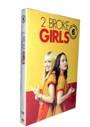 2 Broke Girls Season 6 DVD Box Set