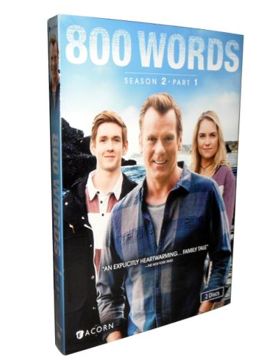 800 words Season 2 DVD Box Set