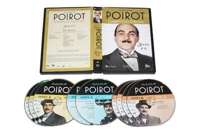 Agatha Christie's Poirot The Complete Collection DVD Box Set