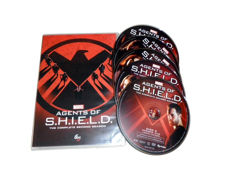 Agents of S.H.I.E.L.D. Seasons 1-2 On DVD