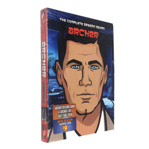 Archer Season 7 DVD Box Set