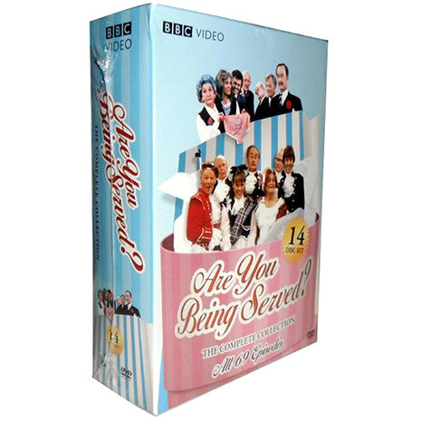 Are You Being Served Seasons 1-7 DVD Box Set