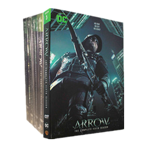 Arrow Seasons 1-5 DVD Box Set