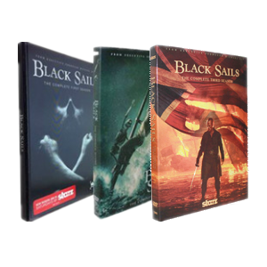 Black Sails Seasons 1-3 DVD Box Set