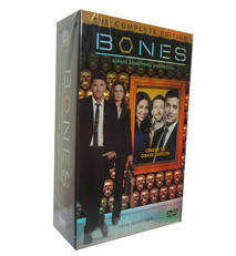 Bones Seasons 1-10 DVD Box Set