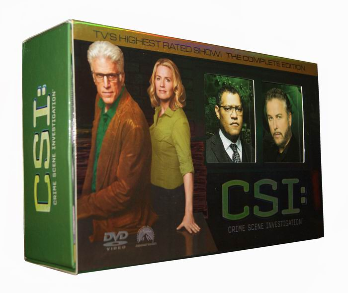 CSI Las Vegas Seasons 1-13 DVD Box Set