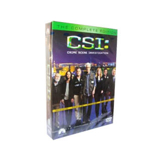 CSI Lasvegas Season 13 DVD Box Set