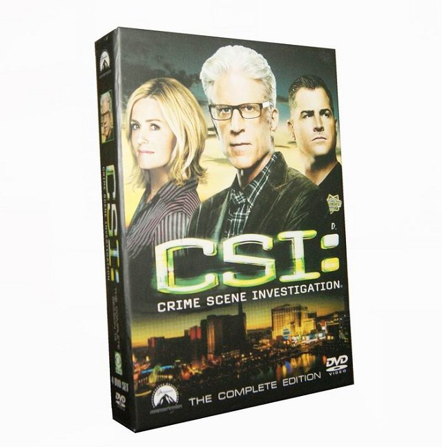CSI Lasvegas Season 14 DVD Box Set