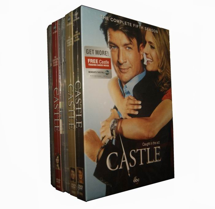 Castle Seasons 1-5 DVD Box Set