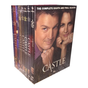 Castle Seasons 1-8 DVD Box Set