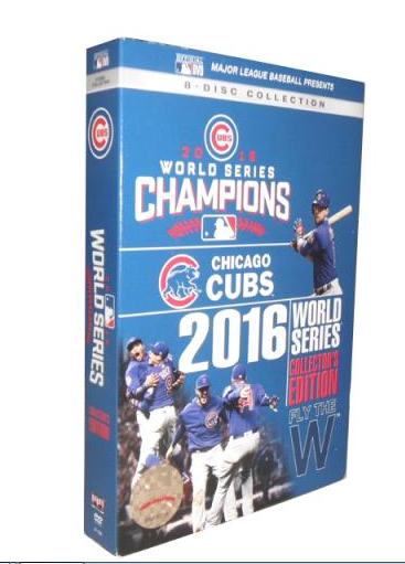 Chicago Cubs 2016 World Series Collector DVD Box Set 703f373d1e54
