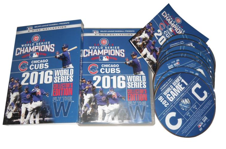 ... famous brand 4c28c 8f410 Chicago Cubs 2016 World Series Collector DVD  ... 8ef1c1506114