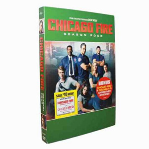 Chicago Fire Season 4 DVD Box Set
