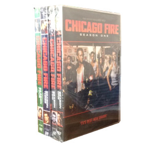 Chicago Fire Seasons 1-4 DVD Box Set