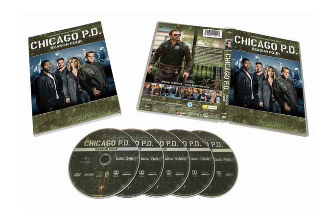 Chicago P.D.Season 4 dvd set