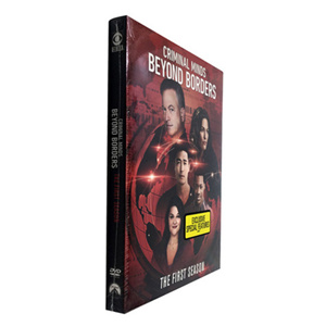 Criminal Minds Beyond Borders Season 1 DVD Box Set