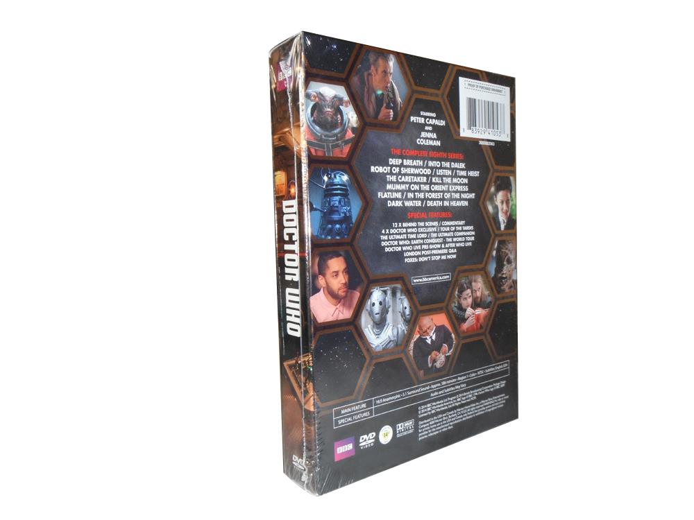 Doctor Who Seasons 1-8 dvd