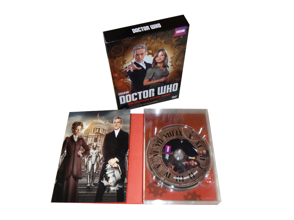 Doctor Who Seasons 1-8 dvd