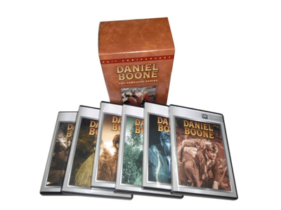 Daniel Boone The Complete Series DVD Box Set