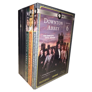 Downton Abbey Seasons 1-6 DVD Box Set