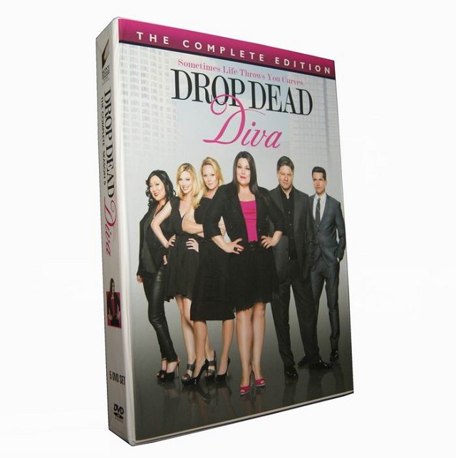 Drop dead diva season 5 dvd box set buy drop dead diva dvd for sale - Drop dead diva dvd ...