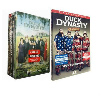 Duck Dynasty Seasons 1-4 DVD Box Set
