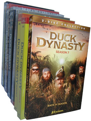 Duck Dynasty Seasons 1-7 DVD Box Set