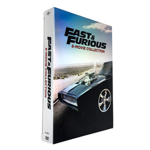 Fast and Furious 1-8 Movie Collection DVD Box Set