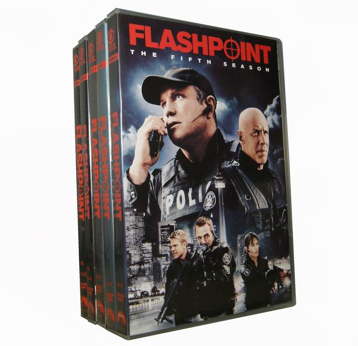 Flashpoint Seasons 1-5 DVD Box Set