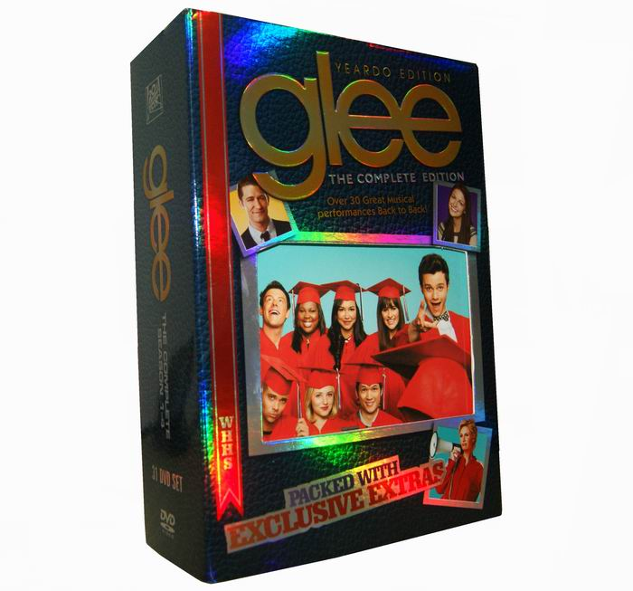 Glee Seasons 1-4 DVD Box Set