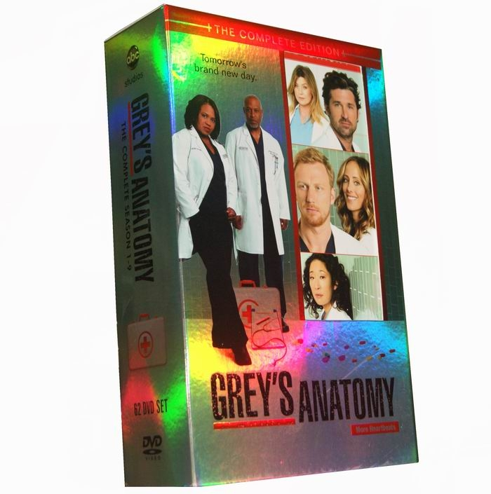 Grey's Anatomy Seasons 1-9 DVD Box Set