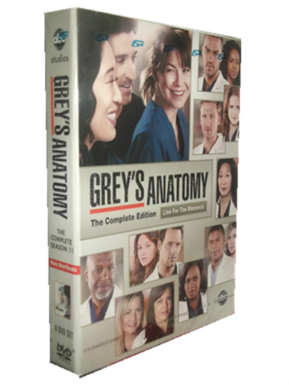 Grey\'s Anatomy Season 11 DVD Box Set,Cheap Grey\'s Anatomy DVD For Sale