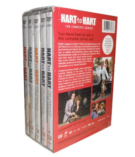 Hart To Hart The Complete Series Dvd Box Set