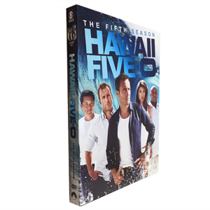 Hawaii Five-O Season 5 DVD Box Set