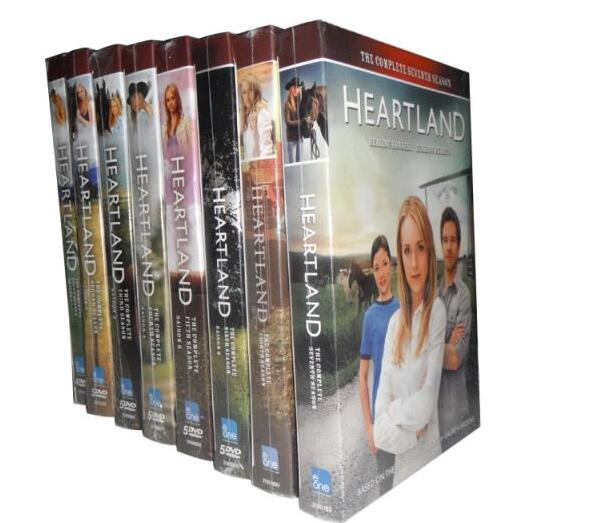 Heartland Seasons 1-8 DVD Box Set