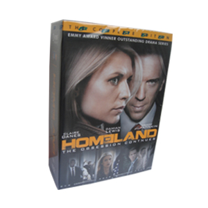 Homeland Seasons 1-3 DVD Box Set