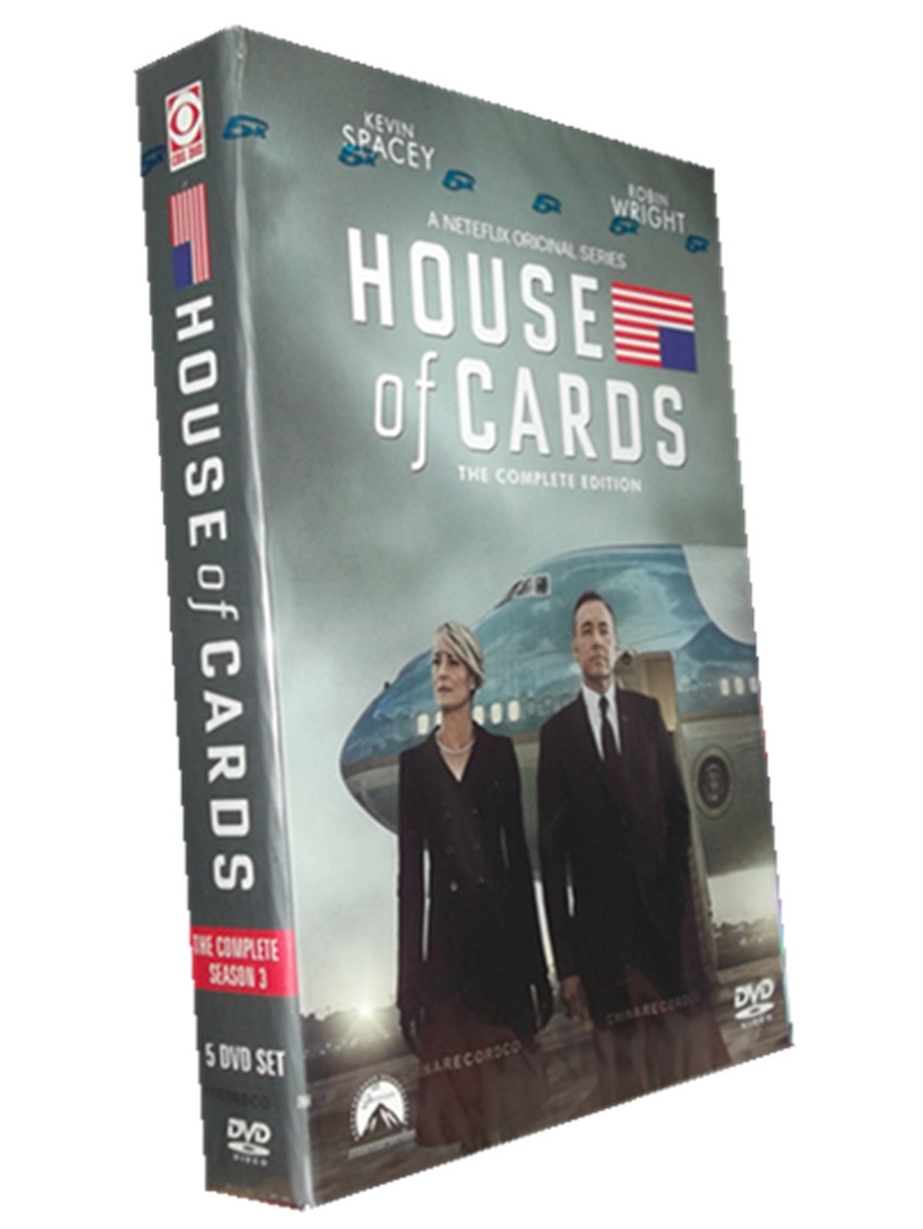 House of Cards Season 3 DVD Box Set