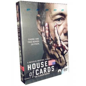 House of Cards Seasons 1-2 DVD Box Set