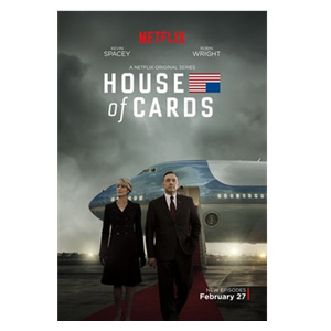 House of Cards Seasons 1-5 DVD Box Set