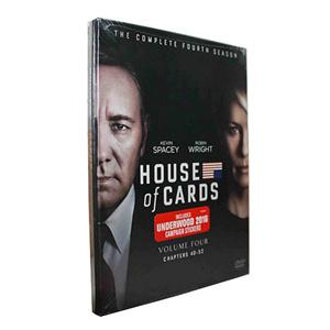 House of Cards Season 4 DVD Box Set