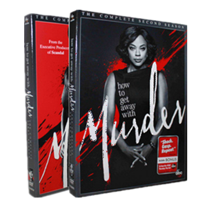 How to Get Away with Murder Seasons 1-2 DVD Box Set