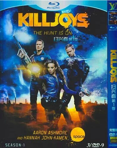 Killjoys Season 1 DVD Box Set