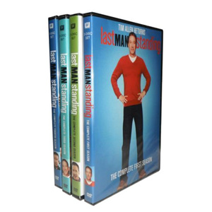 Last Man Standing Seasons 1-4 DVD Box Set