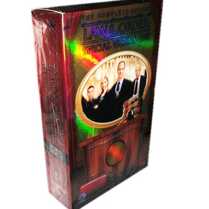 Law & Order Special Victims Unit Seasons 1-13 DVD Box Set
