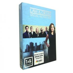 Law and Order Special Victims Unit Season 14 DVD Boxset