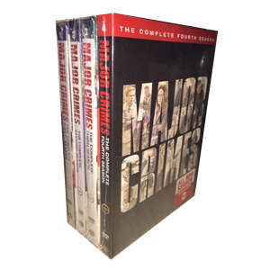 Major Crimes Seasons 1-4 DVD Box Set