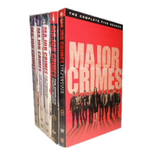Major Crimes Seasons 1-5 DVD Box Set