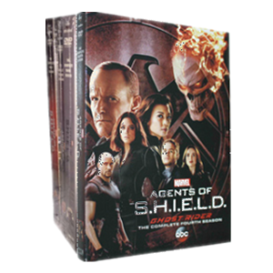Marvel's Agents Of S.H.I.E.L.D. Seasons 1-4 DVD Box Set