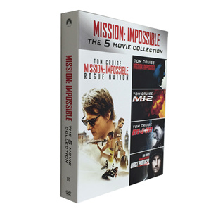 Mission Impossible The 5 Movie Collection DVD Box Set
