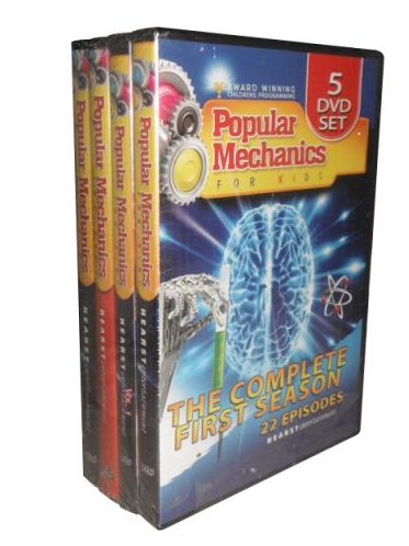 Popular Mechanics For Kids The Complete Series DVD Collection